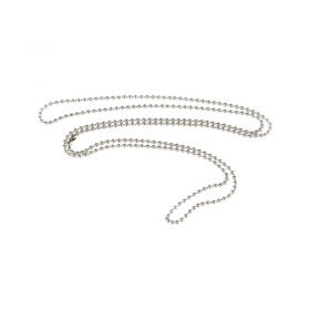 METAL NECK CHAIN 850MM PACK10