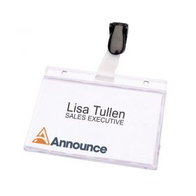SECURITY PASS HOLDER 60X90MM PACK25