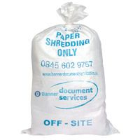 BANNER WASTE SACK CLASSIFIED PK25