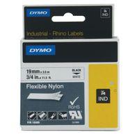 DYMO INDSL NYL TPE ID1 WHT 19MMX3.5M