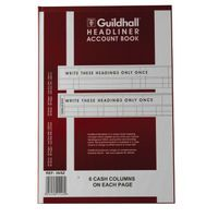 GUILDHALL ACCOUNT 6 CASH COLUMN/PAGE
