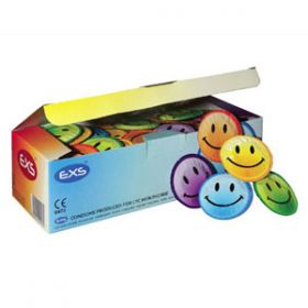 EXS Smiley Face Condoms [Pack of 500]