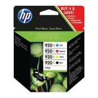 HP 920XL COMBO INK CART KCMY