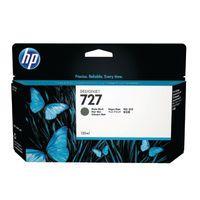 HP 727 130ML MATE INKCART BLK B3P22A
