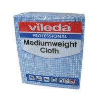 VILEDA MED WEIGHT CLOTH BLE PK10 10