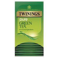 TWININGS PURE GREEN TEA BAG PK20