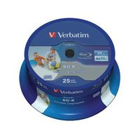 VERBATIM BLURAY 25GB 6X PK25 SPINDLE