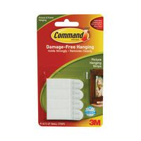 3M COMMAND SMALL PICT HANGING STRIPS