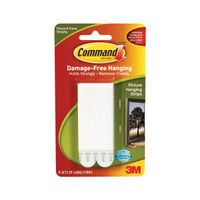 3M COMMAND LARGE PICT HANGING STRIPS