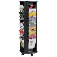 FAST PAPER A4 40 POCKET CAROUSEL BLK