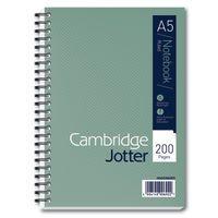 CAMBRIDGE JOTTER NOTEBK A5 200 PAGES
