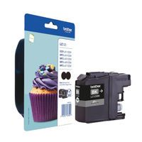 BROTHER INK CART BLK PK2 LC123BKBP2