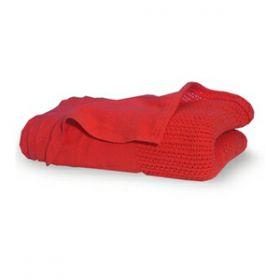 Red Cellular Emergency Blanket