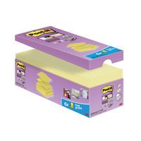 POST-IT SS Z NOTES 76X76 YLW VALUE