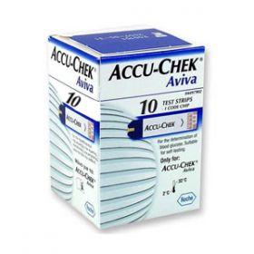 Accu Chek Aviva Test Strips [Pack Of 10]