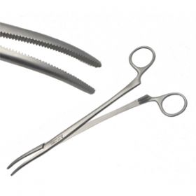 Instramed Sterile Artery Roberts Forceps Curved 22.5cm