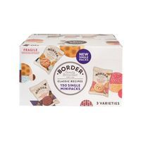 BORDER BISCUITS SINGLE PACKS PK150