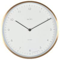ACCTIM BRONX 30CM WALL CLOCK BRASS