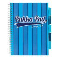 PUKKA VOGUE BLUE A4 PROJECTBOOK PK3