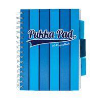 PUKKA VOGUE BLUE A5 PROJECTBOOK PK3