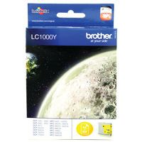 BROTHER LC1000 INK CART YELLOW