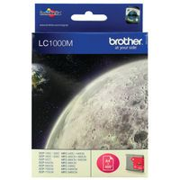 BROTHER LC1000 INK CART MAGENTA