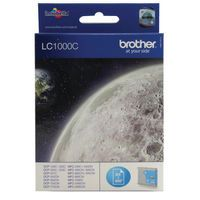 BROTHER LC1000 INK CART CYAN