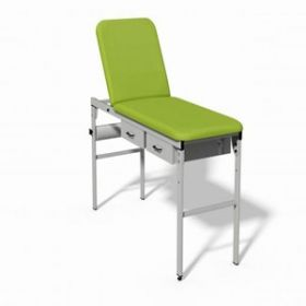 Plinth 2000 Fixed Height Couch - LIME