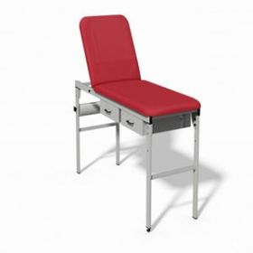 Plinth 2000 Fixed Height Couch - RED