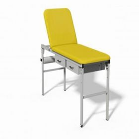 Plinth 2000 Fixed Height Couch - YELLOW