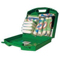 WALLACE GREEN BOX 20 PERSON FAID KIT