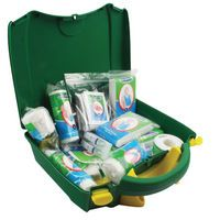 WALLACE VEHICLE GREEN BOX FIRSTAID