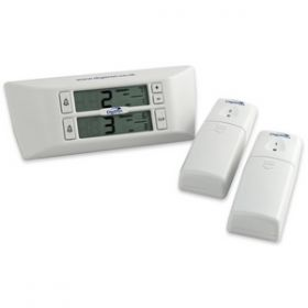 Cordless Digital Min/Max Thermometer with Alarm