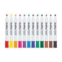 GRAFFICO CONICAL MARKER ASTD PK48