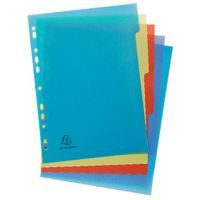 FOREVER RCYCLD PP A4 5 PRT DIVIDERS