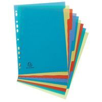 FOREVER RECYCLED PP 10 PART DIVIDERS