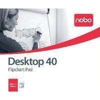 NOBO FLPCHRT PAD PLAIN 580X480 40SHT