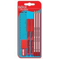 BEROL SCHOOL SET PACK OF 12