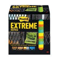 POST-IT EXTREME 76X76MM ASSORTED P12