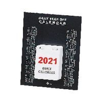 DAILY DESK CALENDAR TEAR OFF 2021
