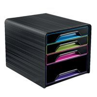 SMOOVE 4 DRAWER MODULE BLK/MCOLOUR