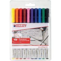 EDDING 89 OFFICE LINER ASSORTED PK10