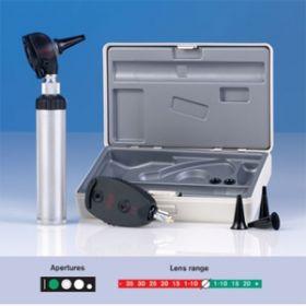 Heine K180 Diagnostic Set 2.5V, 1 Battery Handle, Hard Case (A-279.10.118)