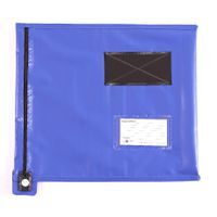 FLAT MAILING POUCH 355X381MM BLUE