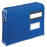 GUSSET MAILING PUCH 457X356X76MM BLU