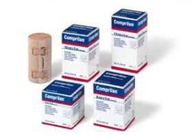 Comprilan Compression Stretch Bandage Short 10cm x5m [Pack of 5]