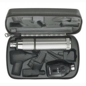 Welch Allyn 11772-BI 3.5V Coaxial Ophthalmoscope with C-Cell Handle In Case
