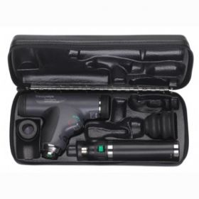 Welch Allyn PanOptic Ophthalmoscope Set with Lithium Handle & Cobalt Blue Filter (11824-VSM)