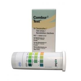 Combur 3 Test Urine Test Strips [Pack of 50]