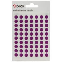 Blick Colored Lbls 8mm Purple Pk9800